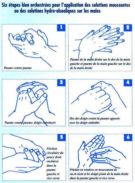 protocole de lavage des mains en cuisine collective lavage des mains