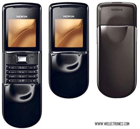 www welectronics com nokia 8800 black sirocco limited