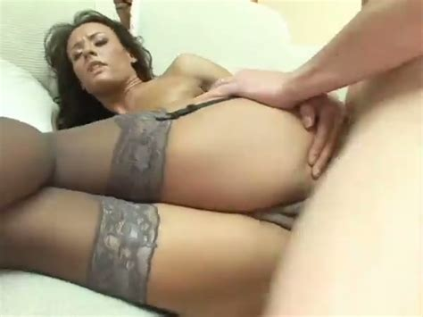 Doggystyle Anal Sex Scene With A Captivating Brown Haired