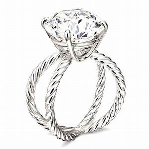 7 giant diamond engagement rings to ogle from david yurman With david yurman wedding ring