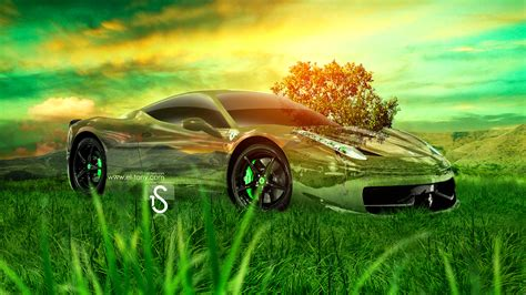 Car Wallpapers Desktops Nature Pictures by 458 Italia Nature Car 2013 El Tony
