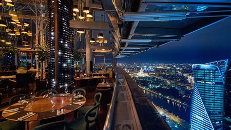 restaurants  incredible views  moscow russia