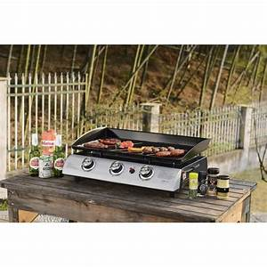 Barbecue Gaz Grill Et Plancha : gas 3 burner barbecue plancha griddle ~ Preciouscoupons.com Idées de Décoration