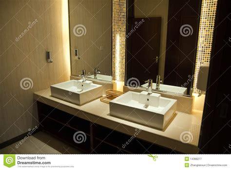 luxury hotel public toilet royalty  stock photography