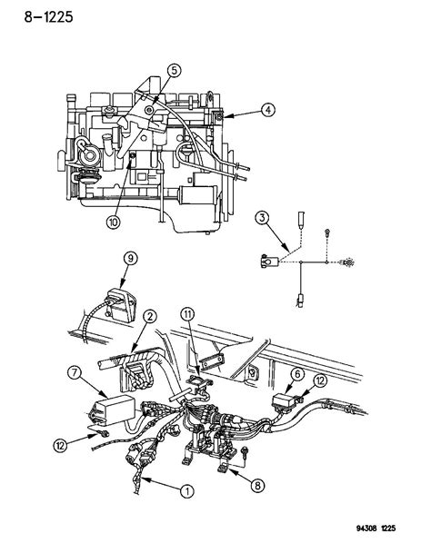 Picture Wiring Diagram 2000 Ram 2500 by Wiring Engine Front End Related Parts R Models Cummins
