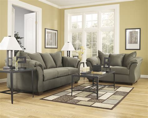 Cheap Ashley Furniture Fabric Sofa Sets In Glendale, Ca