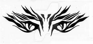 tribal tiger eyes by EveryDeadPetalFalls on DeviantArt