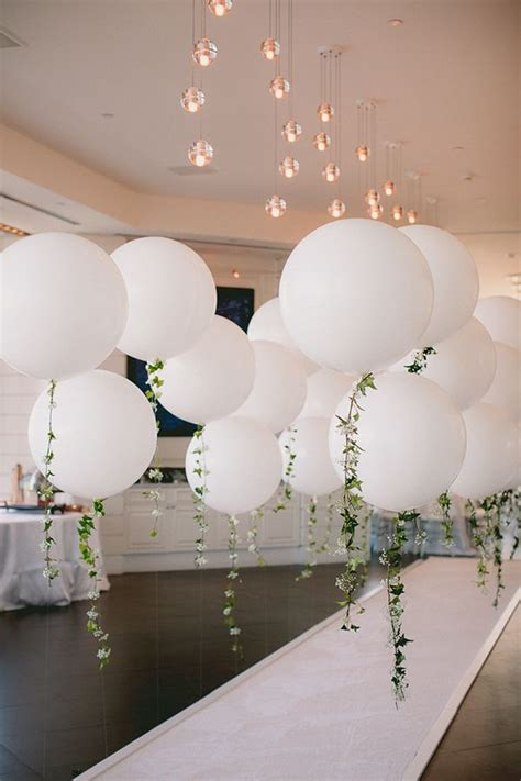 diy balloon decorations for a wedding reception diy balloon garland engagement party white balloons