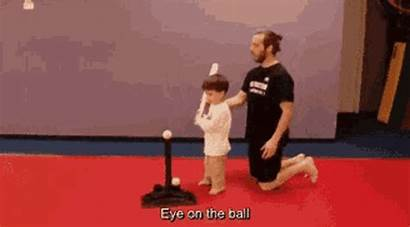 Practice Training Baseball Gifs Reddit Ball Eye