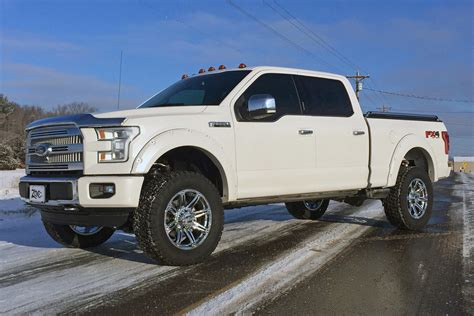 2015 Ford F150 4'' Lift Kits From Zone Offroad Products