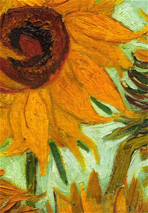 sunflower rug  wall hanging  van gogh