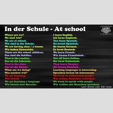 German Language Learn Fast4 At School  English To German Youtube