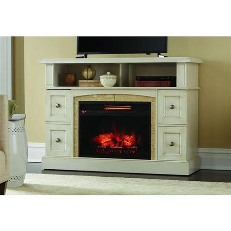 white fireplace tv stand home decorators collection avondale grove 59 in tv stand