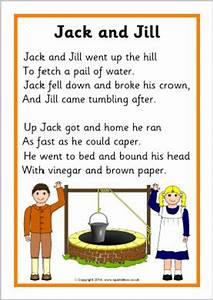 Related Keywords & Suggestions for jack and jill lyrics