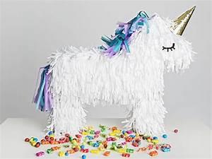 Pinata Basteln Pferd : einhorn pi ata basteln ~ Frokenaadalensverden.com Haus und Dekorationen