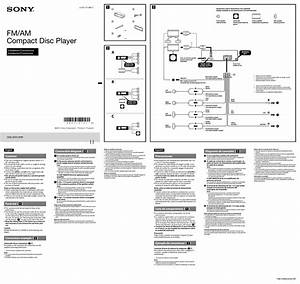 Free Car Stereo Wiring Diagrams Sony Cdx 5180