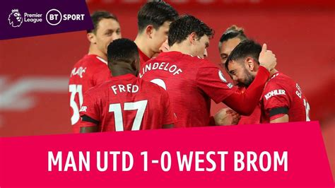 Man Utd vs West Brom (1-0) | Premier League highlights ...
