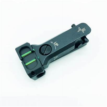 Optic Fiber Sights Rear Vz58 Adjustable Rifle