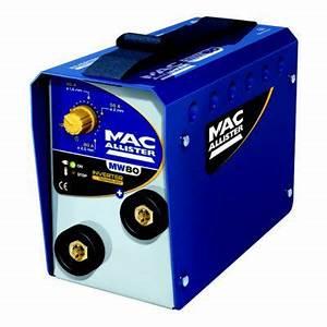 Poste à Souder Inverter : poste souder inverter mac allister mw80 castorama ~ Edinachiropracticcenter.com Idées de Décoration