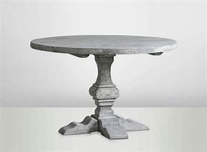 Grey Round Table Grey Farm Table Grey Wooden Table Farm