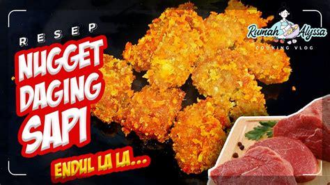 Lebih murah, terjamin dan yg pasti bebas pengawet.bikin 1/2 kg ayam aja dapatnya banyak.bisa buat stok frozen food di rumah, kapan mau tinggal goreng deh. RESEP NUGGET DAGING SAPI SIMPEL - YouTube