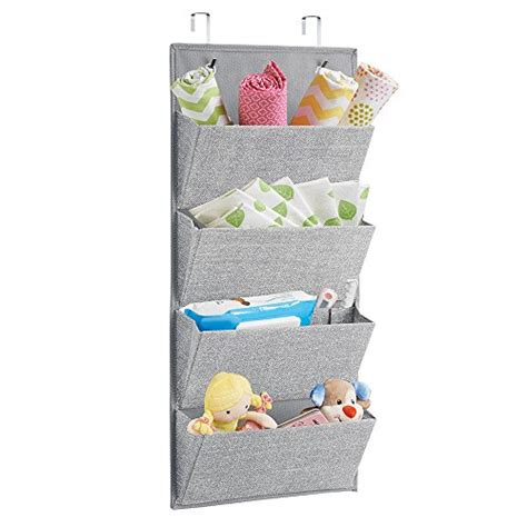 nursery wall organizer hanging wall shelves over the door fabric storage baby
