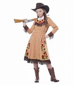 Celebrity Cowgirl Annie Oakley Girls Costume - Historic