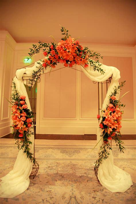 wedding arch st regis hotel wwwanikdesignscom anik