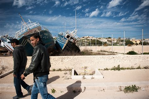 Refugee Boat Italy by Italy Blocks Refugee Boat From Libya