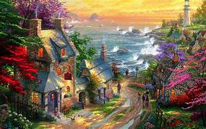 Art Painting Wallpapers Group (81+)
