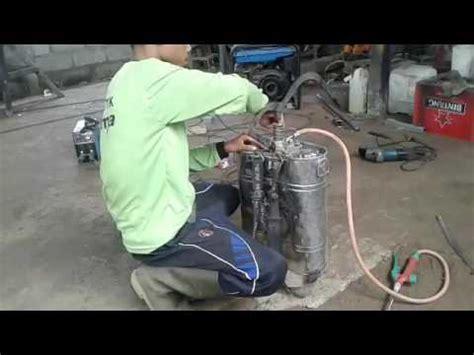 Modifikasi Pompa Air Jadi Kompresor by Modifikasi Alat Semprot Pompa Menjadi Elektrik Demo O
