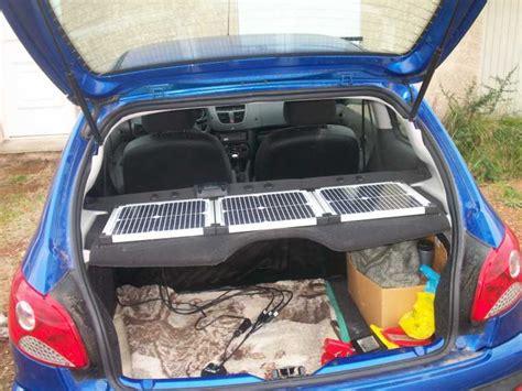 voiture pour 3 si鑒es auto panneaux solaires pour batterie voiture