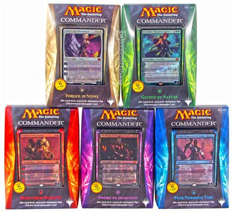 Mtg Commander Decks 2014 by Magic 2015 Commander Decklist Autos Post