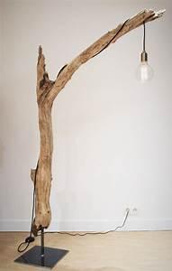 Lampe Chevet Bois Flotté : lampe bois flott doityourself bois flott lampe bois flott et lampe bois ~ Melissatoandfro.com Idées de Décoration