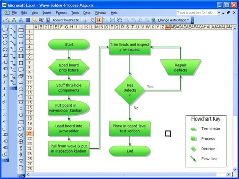 Flowbreeze Flowchart Software 3.6.724 Review And Download Define Flowchart In Computer Science Decision Gate With And Loop To Connector Use Design A Communication Flow Chart Of The Process Absolute Loader