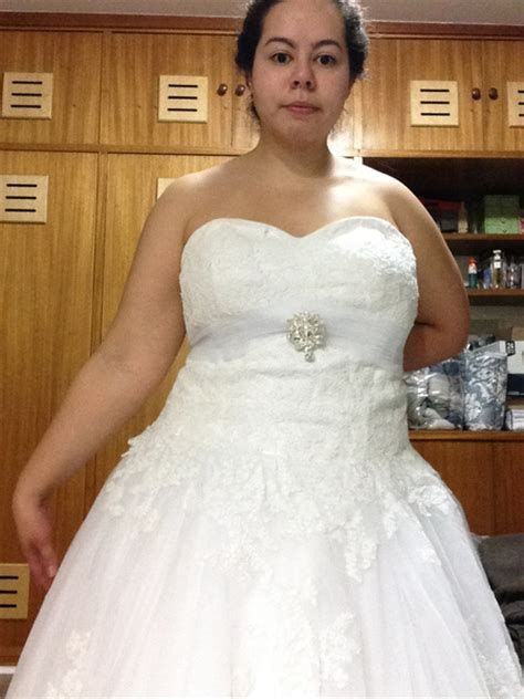 White Ball Gown Strapless Sweetheart Neck Lace Floor