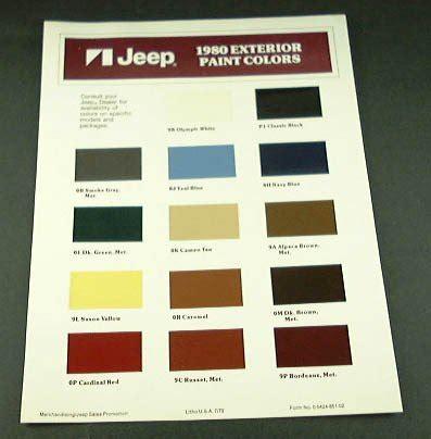 Vht Paint Color Chart