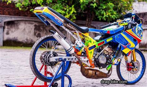 foto gambar modifikasi motor ninja  street racing