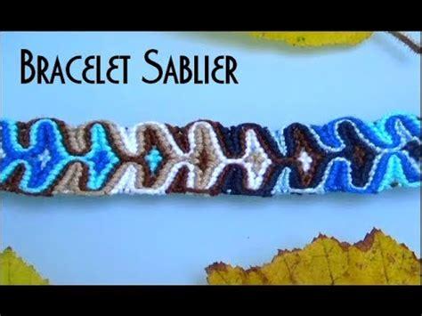 bracelet brésilien soto caro tuto joli bracelet br 233 silien large motif sablier