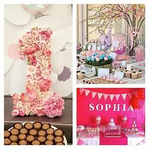 Decoration maison pour anniversaire fille for Chambre bébé design avec des fleurs pour anniversaire