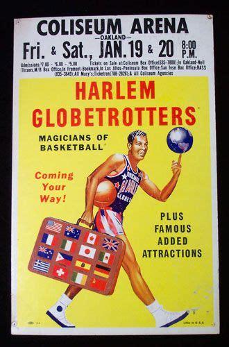 harlem globetrotters  harlem globetrotters poster