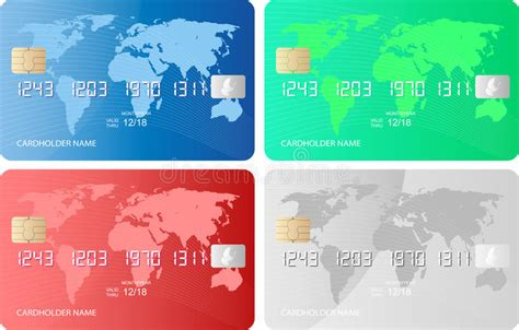 credit debit card template stock image image  payment