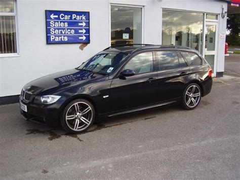 bmw  series car  black diesel   sport