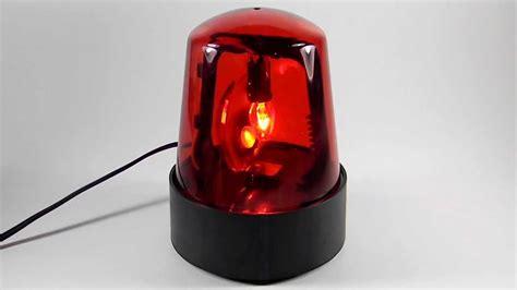 Siren Light by 7 Quot Lighted Beacon Demo Rotating 120 V