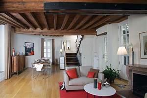 Deco maison ancienne moderne exemples d39amenagements for Idee deco maison ancienne