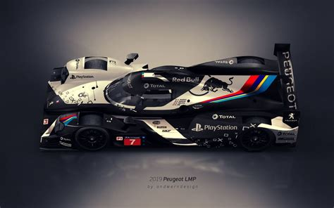 Peugeot Lmp1 2019 by This Peugeot Lmp1 Concept Is All Kinds Of