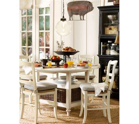 pottery barn kitchen furniture shayne drop leaf kitchen table antique white south end