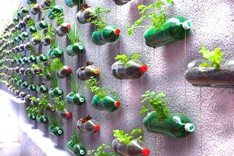 Vertical Wall Planters by Recycled Wonders Monkey Rama Dada