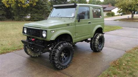 Lifted Suzuki Samurai For Sale by Lifted Suzuki Samurai Tin Top Beast W 31 Boggers 3800
