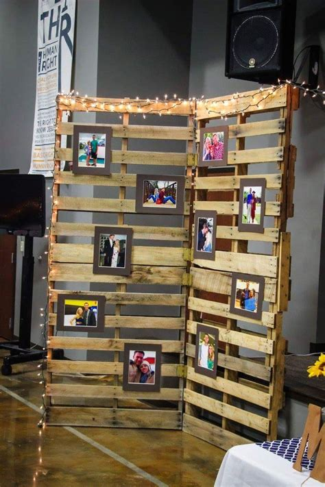 best 25 pallet picture display ideas on pinterest
